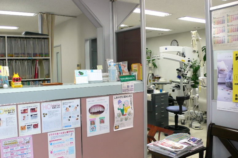 受付より診療室